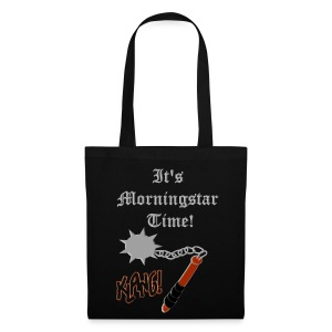 It's Morningstar Time! Wield your handbag. - Tas van stof