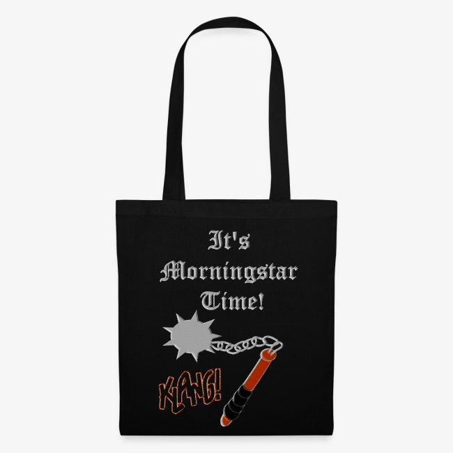 It's Morningstar Time! Wield your handbag.