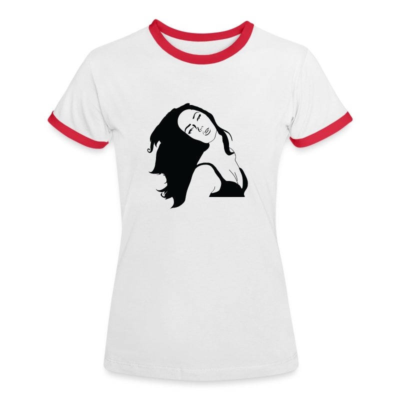 graffiti template style woman t shirt spreadshirt. Black Bedroom Furniture Sets. Home Design Ideas
