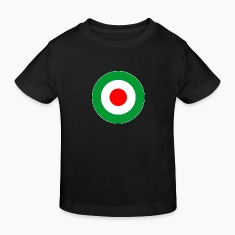 Italien Italy Europe Mod Target DigitalDirekt Kids' Shirts