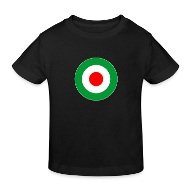 Italien Italy Europe Mod Target DigitalDirekt Kinder T-Shirts