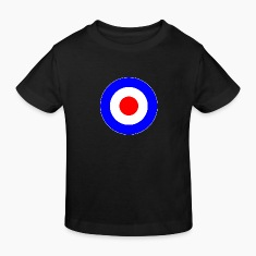 Great Britain France Europe Mod Target DigitalDirekt Kids' Shirts