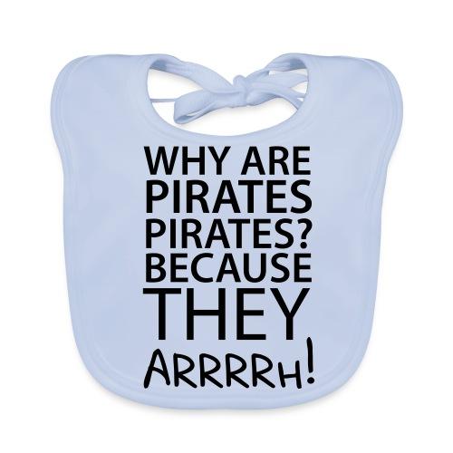 Pirates Baby Bib - Baby Organic Bib