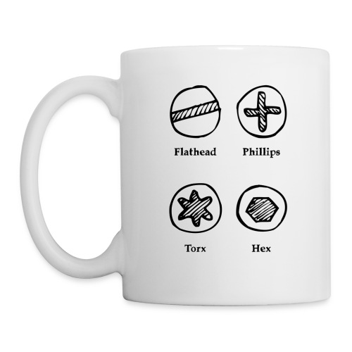 Screw Types Mug - Mug