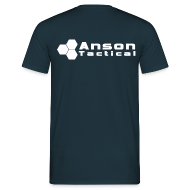 T-Shirts ~ Men's T-Shirt ~ Anson Tactical T-Shirt Navy