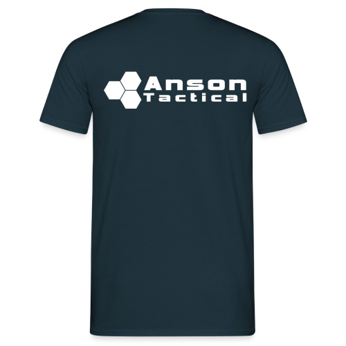 Anson Tactical T-Shirt Navy - Men's T-Shirt