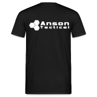 T-Shirts ~ Men's T-Shirt ~ Anson Tactical T-Shirt Black