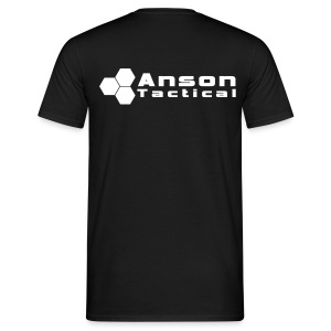 Anson Tactical T-Shirt Black - Men's T-Shirt