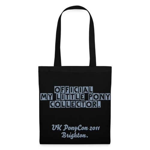 Offical My Little Pony Collector Black Tote - Tote Bag
