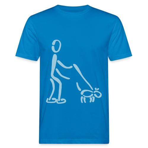 Gassi-Shirt - Männer Bio-T-Shirt