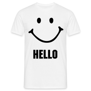 HELLO - Men's T-Shirt