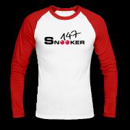 Long sleeve shirts ~ Men's Long Sleeve Baseball T-Shirt ~ 147 snooker