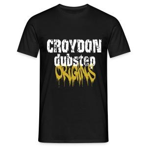 Croydon DubStep Origins classic  - Men's T-Shirt