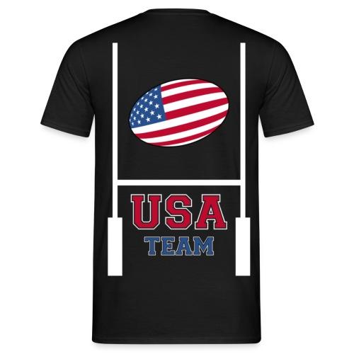usa team rugby shirt - T-shirt Homme