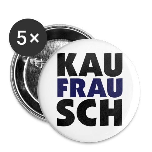 Kaufrausch-Button - Buttons klein 25 mm