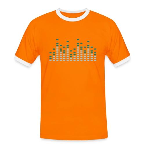 Mens Spectrum Analyser Football Fan Shirt - Men's Ringer Shirt
