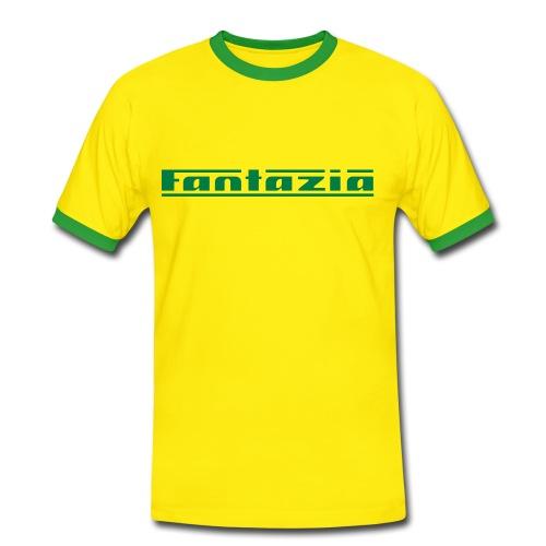 Mens Contrast Fantazia Shirt - Men's Ringer Shirt