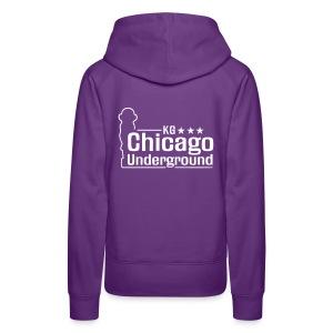 KLASSIKER | KG Chicago Underground 2007 - GirlHoodie - Frauen Premium Hoodie