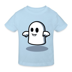 Little Ghost at Midnight Kids' Shirts - Kids' Organic T-shirt