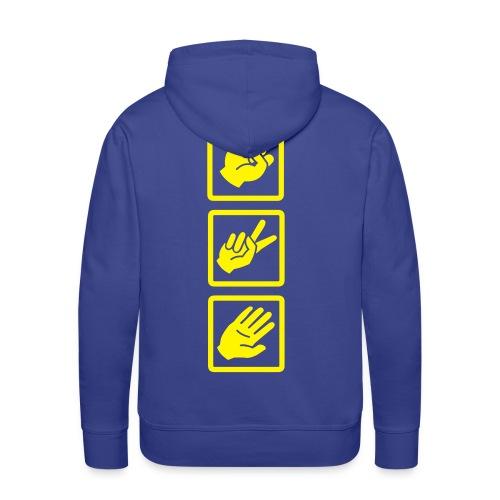 Can you beat me ? Sweatshirt - Sweat-shirt à capuche Premium pour hommes