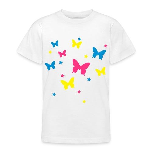 kids butterfly t-shirt - Teenage T-shirt