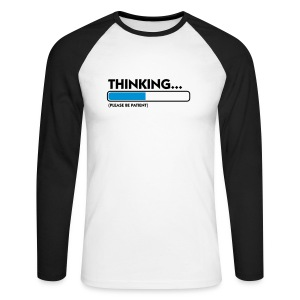 Thinking. - T-shirt baseball manches longues Homme