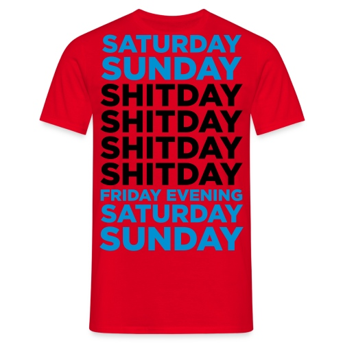 Days of the Week - Men's T-Shirt