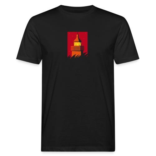 Leuchtturm - Männer Bio-T-Shirt