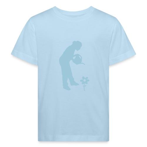 Ichoschule Blumenmädchen organic - Kinder Bio-T-Shirt