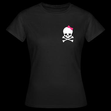 ragazza piccolo cranio T-shirt