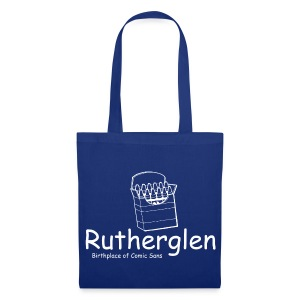 Rutherglen Comic Sans - Tote Bag