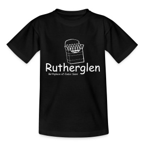 Rutherglen Comic Sans - Teenage T-shirt