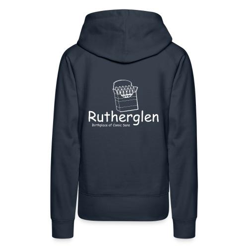 Rutherglen Comic Sans - Women's Premium Hoodie