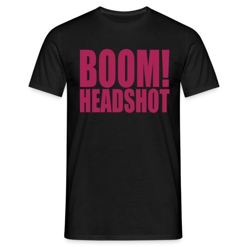 BoomHeadshot - Maglietta da uomo