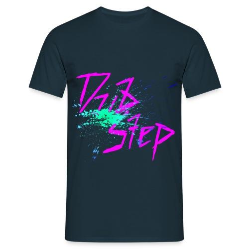 Dubstep Green Splash - Männer T-Shirt
