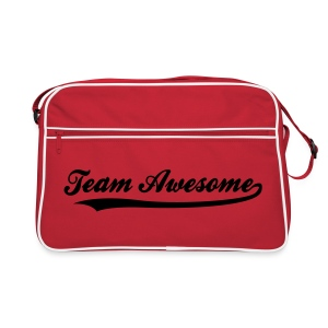 Team Awesome - Retro Tasche