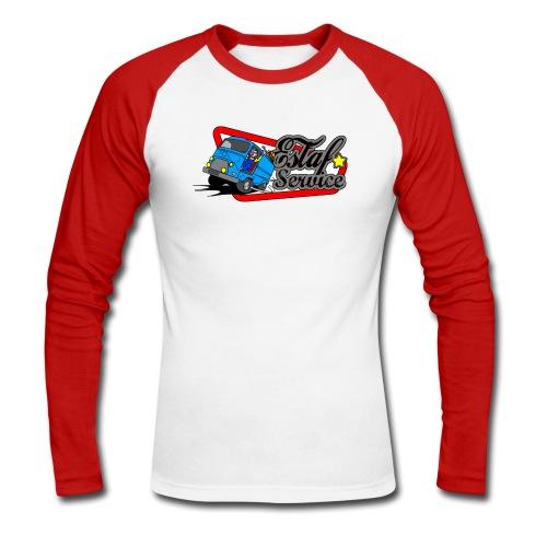 Estaf'Service Paris - T-shirt baseball manches longues Homme