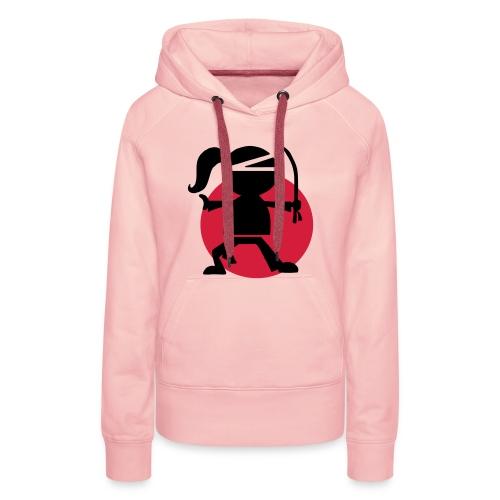 Urban Ninjarette Hoodie- Gals - Women's Premium Hoodie