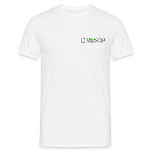 LibreOffice T-shirt - Herre-T-shirt