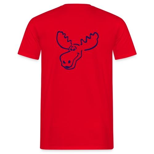 Elch Shirt Junge Schwedin Groessen S - xxxl - Männer T-Shirt