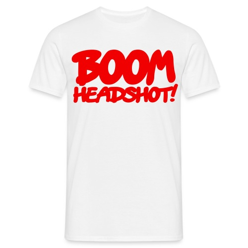 Boom Headshot! - Men's T-Shirt