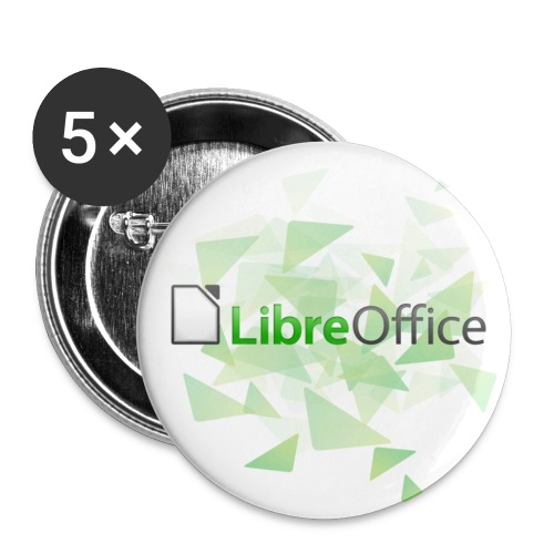 LibreOffice badge - Buttons/Badges lille, 25 mm