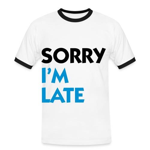 Sorry... - Maglietta Contrast da uomo