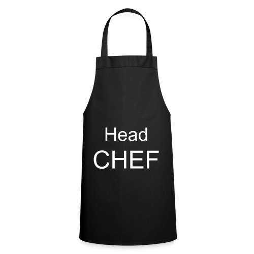 Head Chef Black Apron - Cooking Apron