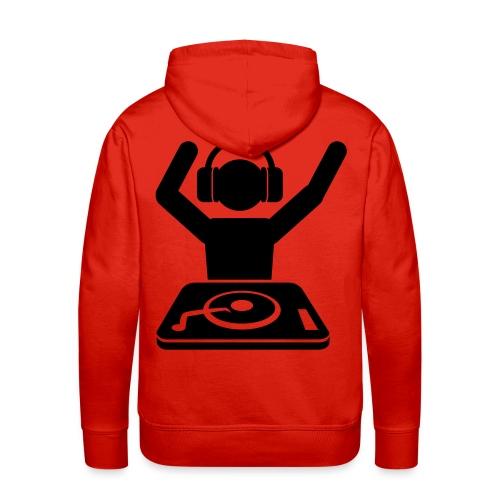 Sudadera DJ - Sudadera con capucha premium para hombre