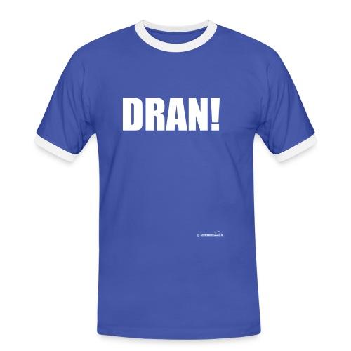 DRAN!(De Graafschap fan) - Mannen contrastshirt