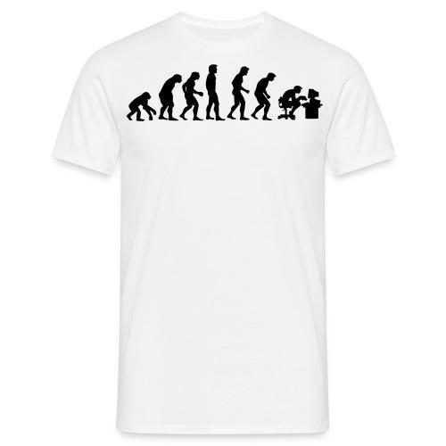 T-SHIRT Homme, l'evolution de l'homme. - T-shirt Homme