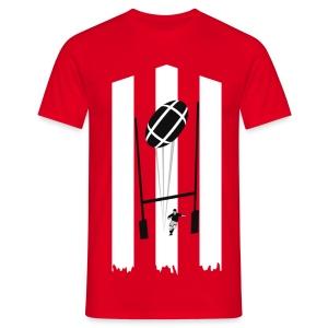 t-shirt rugby design - T-shirt Homme