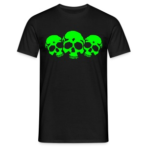 Three Skulls - Männer T-Shirt