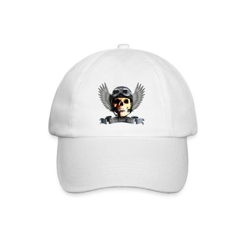 Biker Skull Cap - Baseball Cap